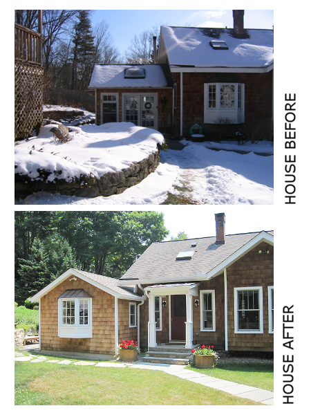 House Before & After
