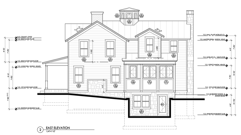 Building Drawing Plan Elevation : Hudson valley extreme makeover construction documents