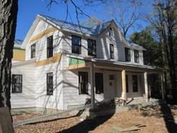 Hudson Valley House Construction Photograph