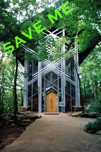 Save Thorncrown Chapel